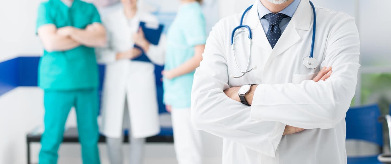 Bild einer Gruppe Mediziner